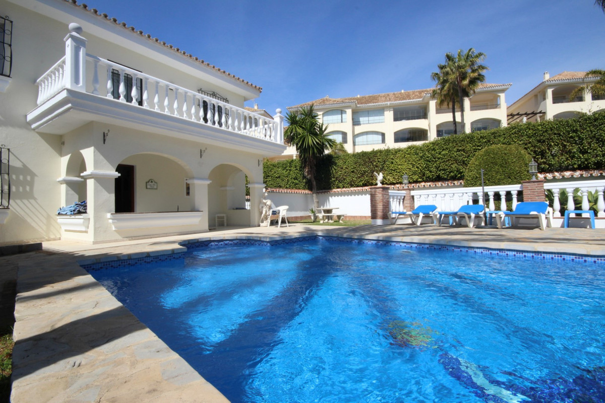 HOLIDAY HOME LITERALLY ON THE BEACH IN ELVIRIA, MARBELLA • This is a very unique opportunity to both,Spain