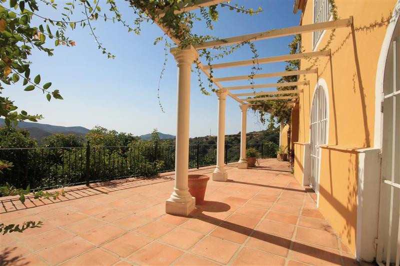 This charming rustic villa is located at the door step of the beautiful whitewashed village of Ojen , Spain