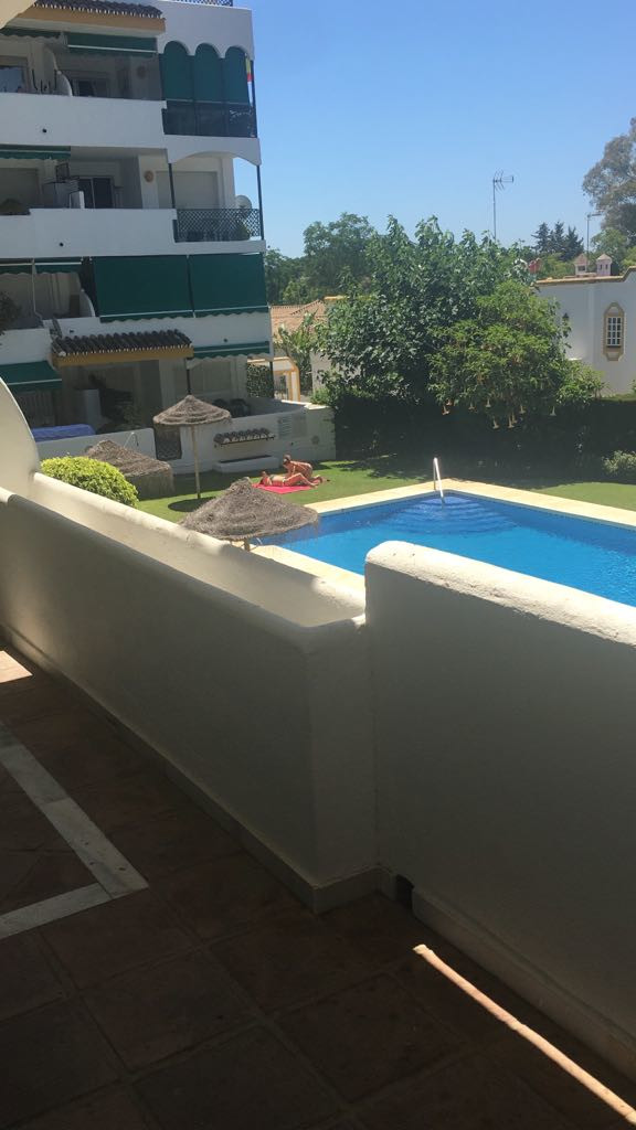 The apartment has two bedrooms, 1 bathroom, living room, american style open kitchen, and a terrace., Spain