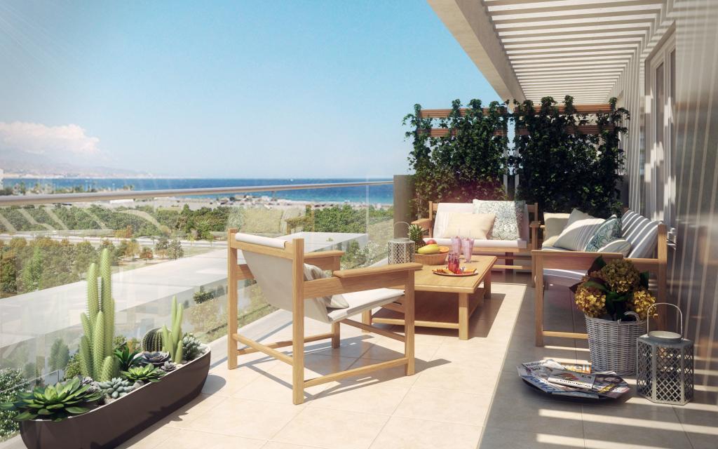 Viviendas expectaculares en Torre del Mar, 2ª Linea de Playa. Situado cerca del nuevo Paseo Maritimo,Spain