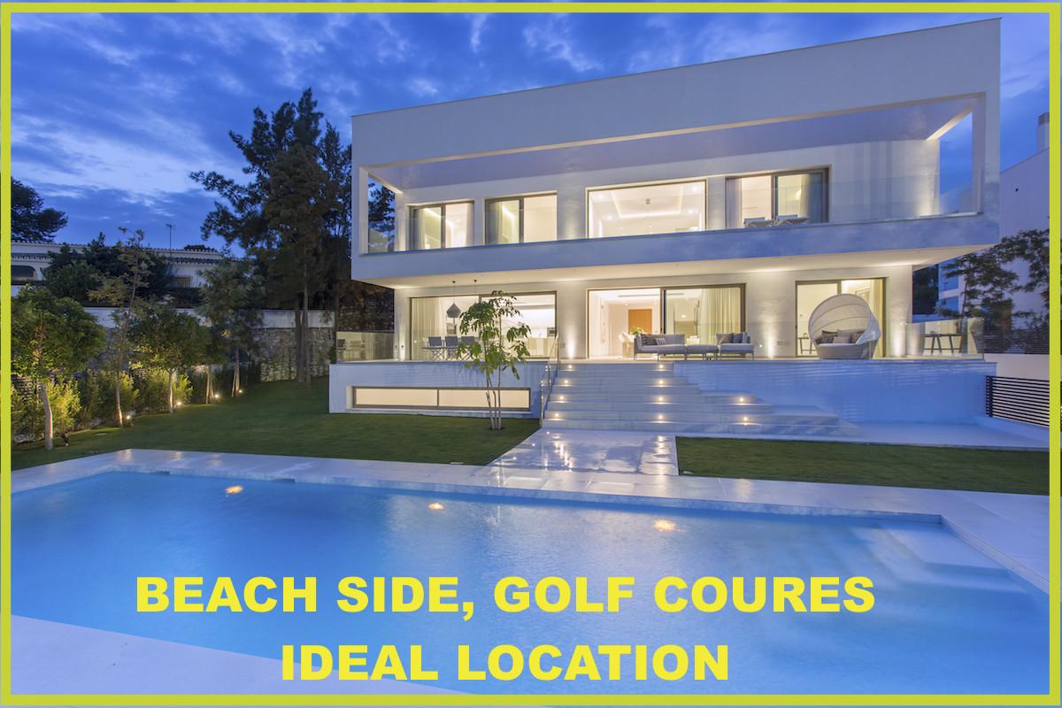 Detached Villa, New Golden Mile, Costa del Sol. 4 Bedrooms, 5 Bathrooms, Built 501 m², Terrace 297 m,Spain