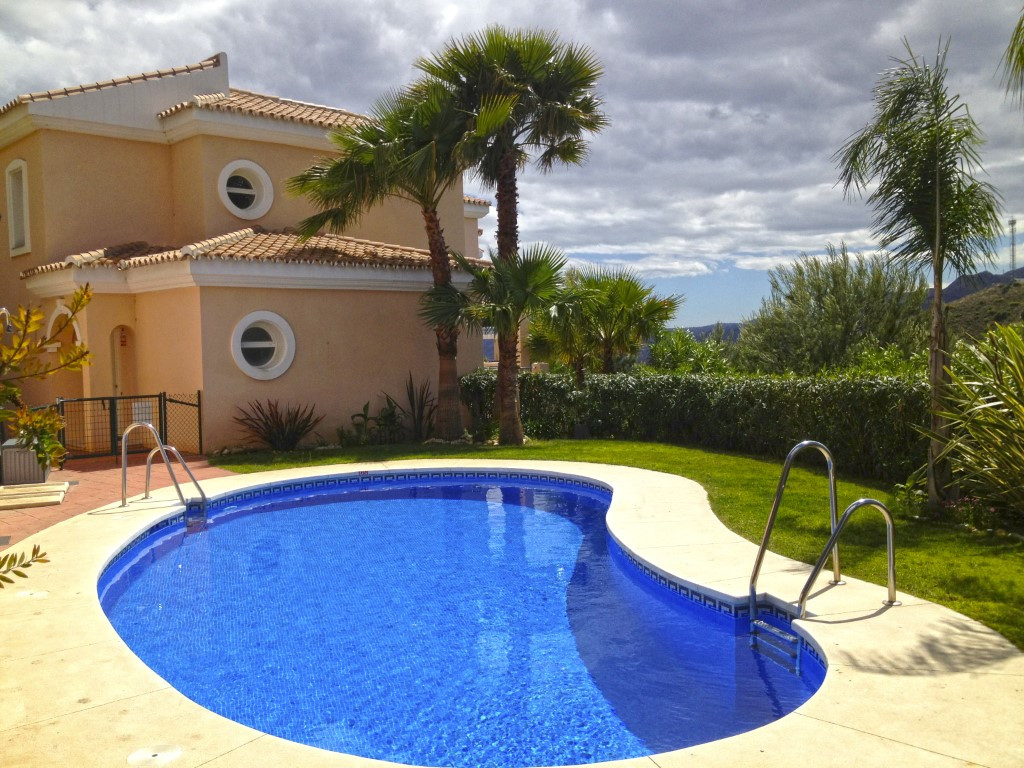 A very spacious end-of-terrace property on one of the Costa del Sol's most beautiful golf cours,Spain