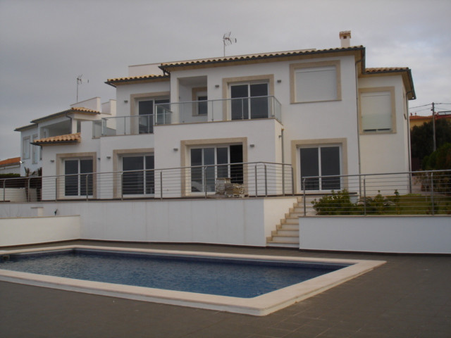 On plot of 1,600m2, the seafront with spectacular views of the island of Cabrera, have built two sem,Spain