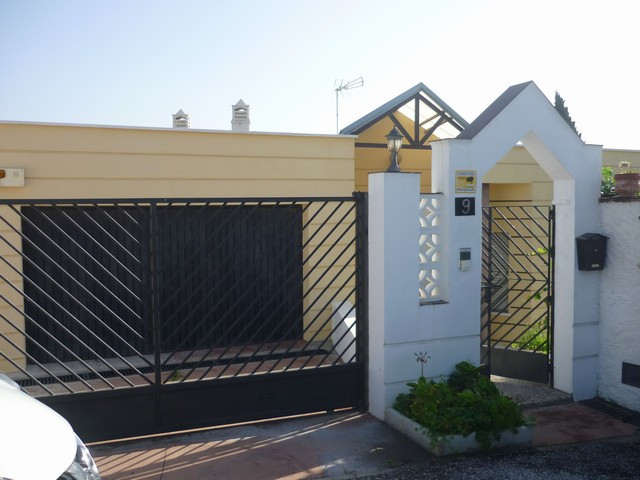 Spacious villa located in El Atabal (Malaga), ideal as a family home. Entrance to the property in a ,Spain