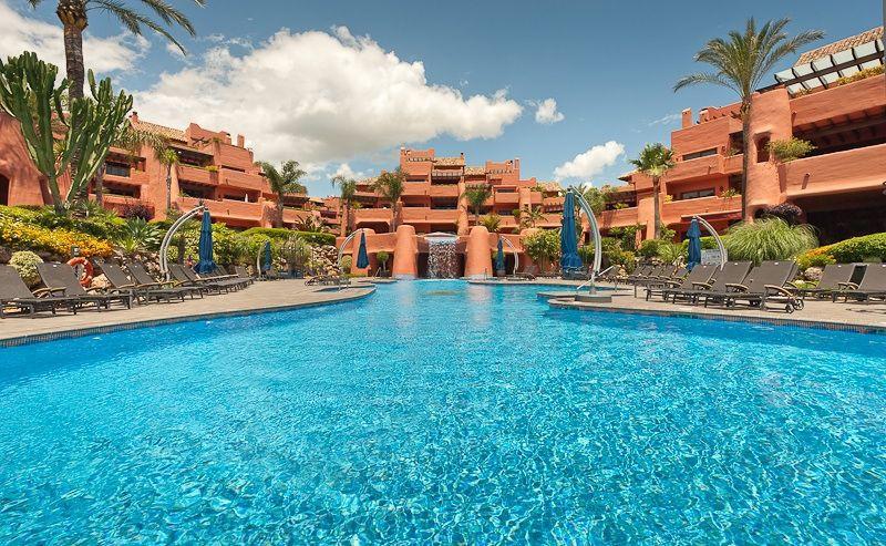 Ground Floor Apartment, New Golden Mile, Costa del Sol. 2 Bedrooms, 2 Bathrooms, Built 145 m², Terra,Spain