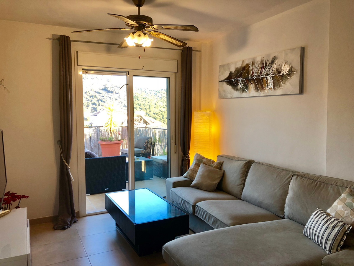 Two bedroom end of terrace apartment, one full bathroom, open plan fully fitted kitchen, lounge/dini, Spain