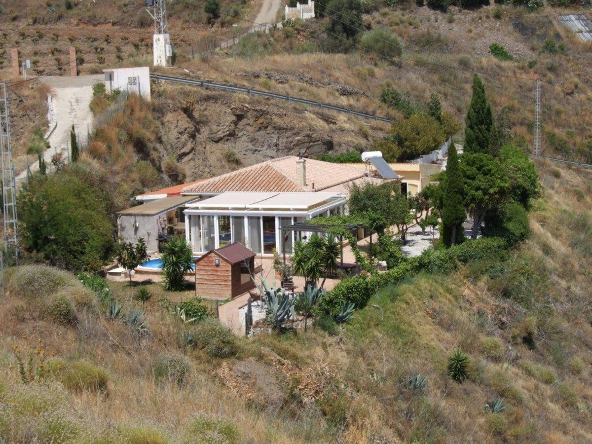 Villa in Torrox with fantastic views  Villa in Torrox  Privacy, outside space and fantastic sea view Spain
