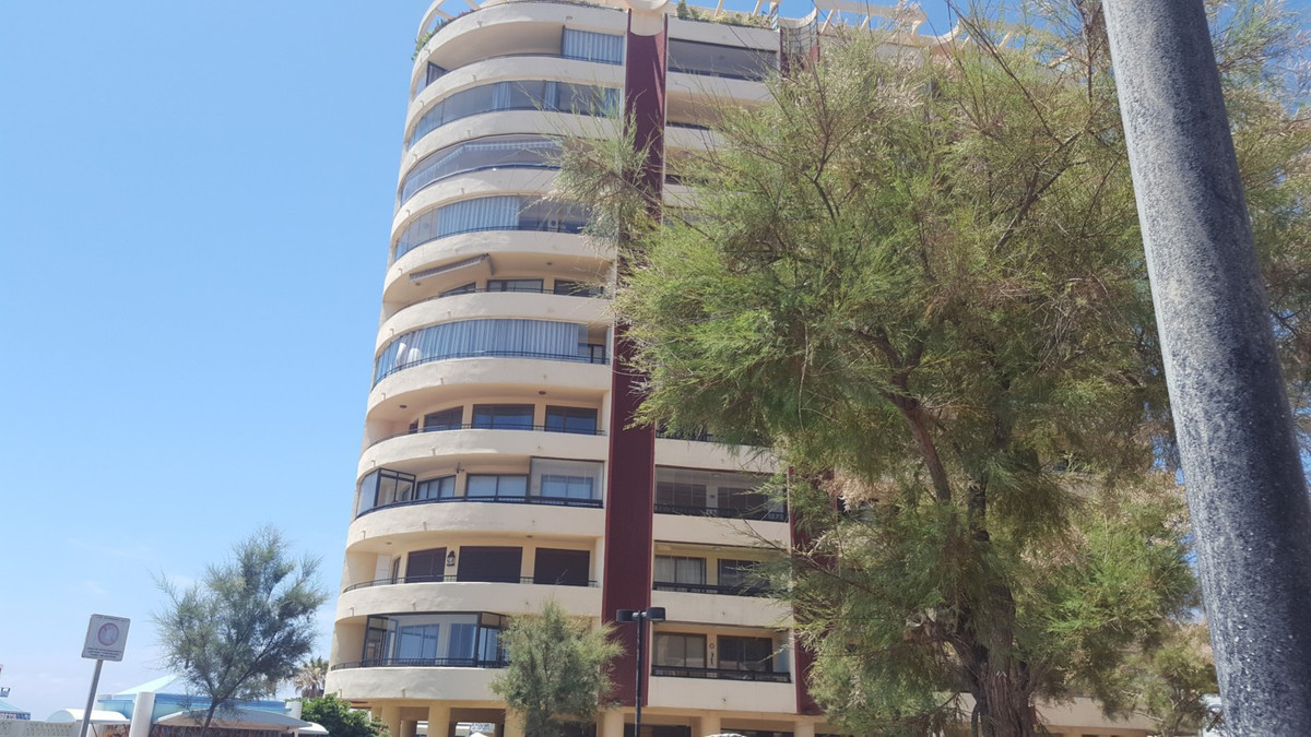 An immaculate frontline beach apartment with panoramic sea views in a luxury block with porter, secu, Spain