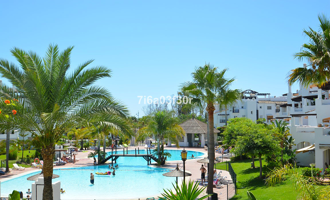 This wonderful apartment is located nearly in the promenade in San Pedro Alcantara.  Property:  It i,Spain