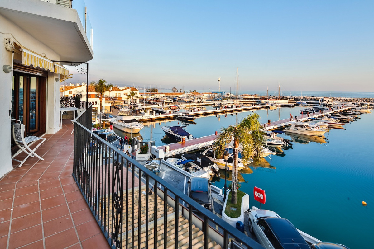 Immaculate Apartment at the best spot of Puerto Banus. Originally 2 Apartment, converted into one. A, Spain