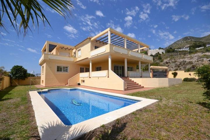 South facing 6 bedroom villa for sale in Benalmadena Pueblo  Built in 2006 but never lived in, situa,Spain