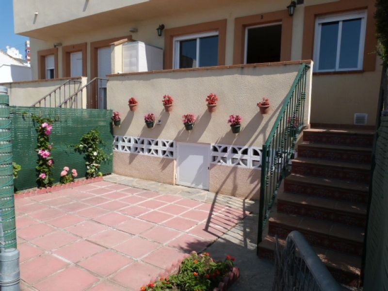 This lovely property is front-line to the beach, entered via a spacious terrace with BBQ and beach v,Spain