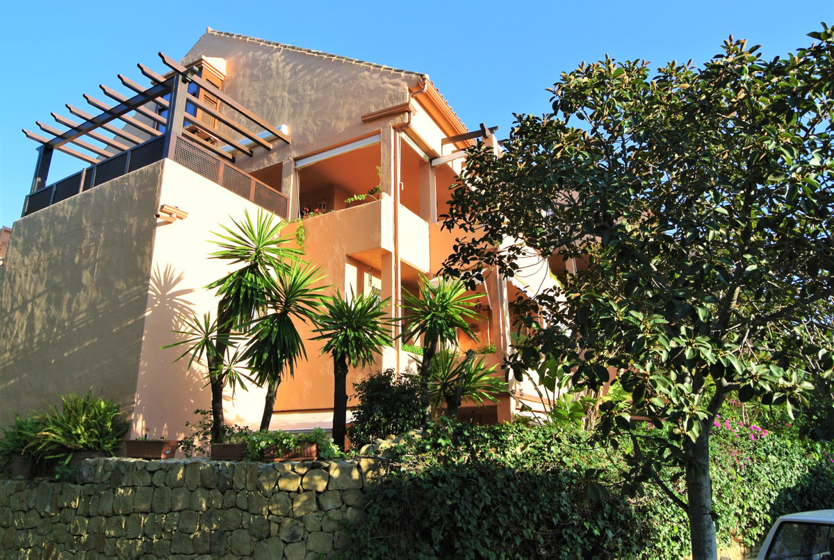This charming penthouse is located in a beautiful gated urbanization with pool and nice tropical gar, Spain
