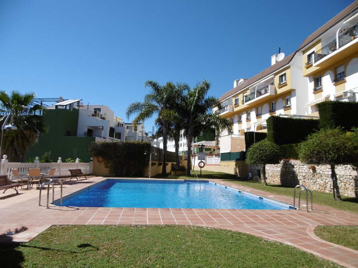 4 BEDROOMS DUPLEX APARTMENT, BATHROOM AND TOILET WITH PANORAMICS SEA VIEWS AND TO THE  MALAGA BAY. I, Spain