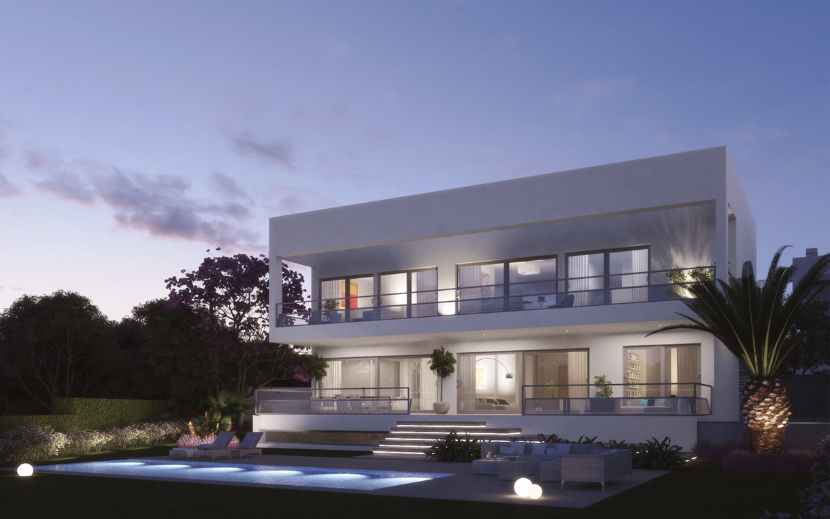 Magnificent villa of modern architecture located in exclusive area of Marbella a gated and secure mo,Spain