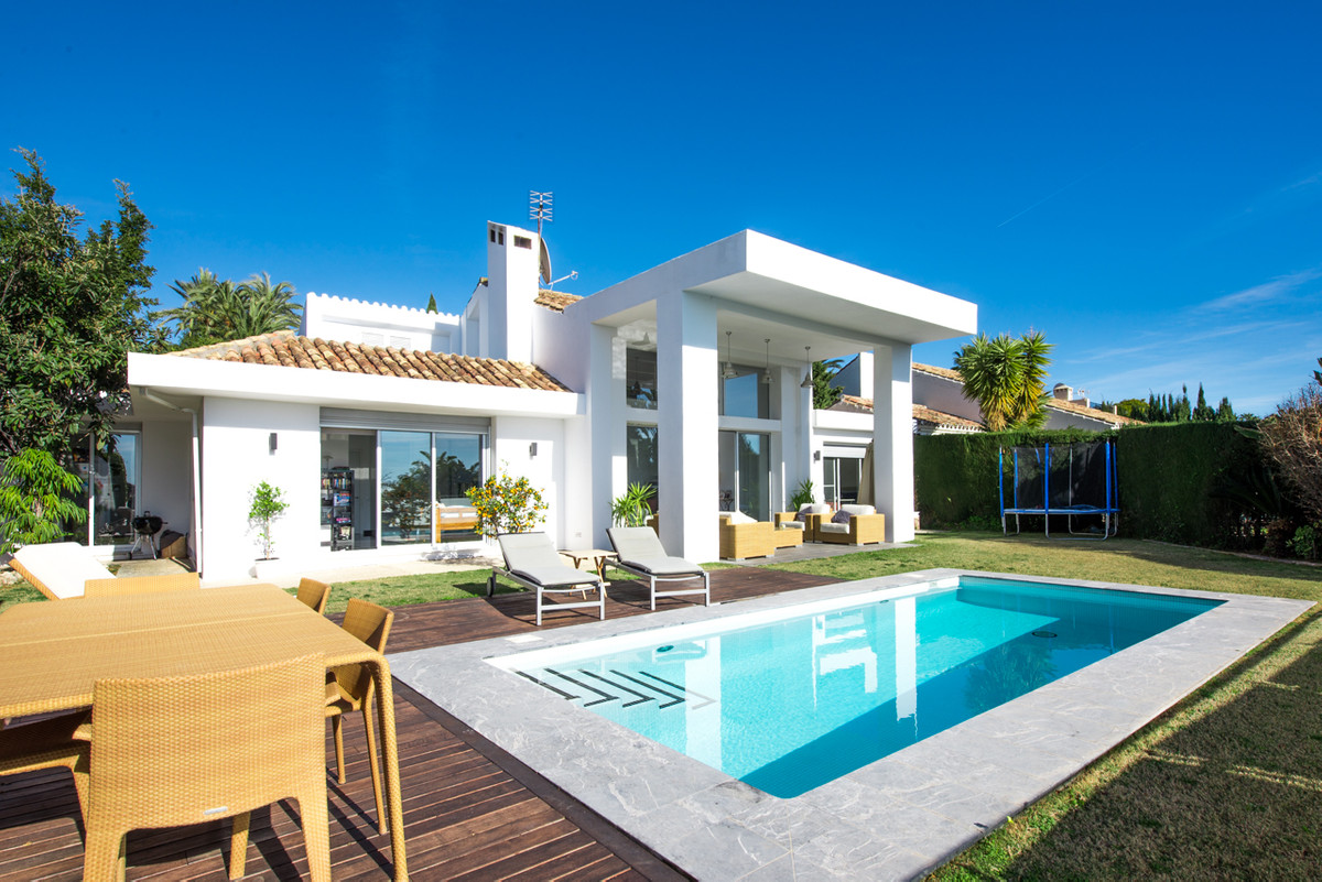Contemporary beautifully refurbished villa situated on a elevated south facing plot with views over , Spain