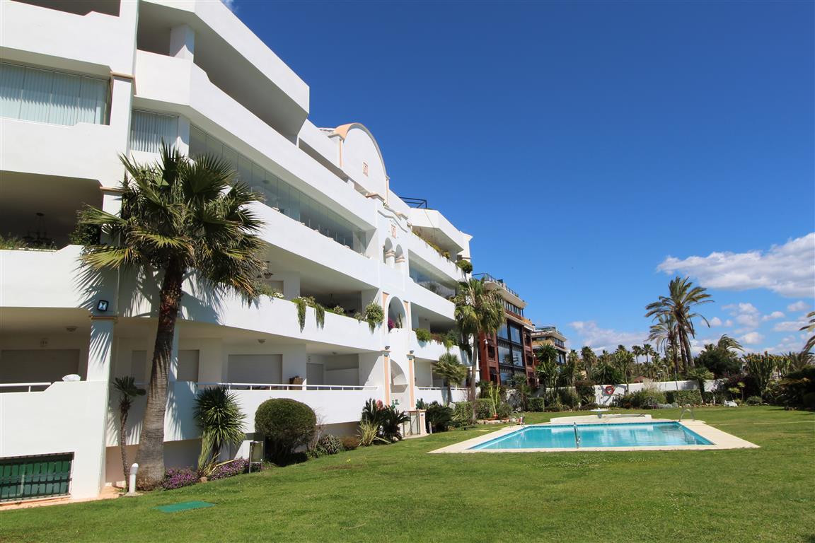 LOVELY 2 BEDROOM GROUND FLOOR APARTMENT IN STUNNING FRONT LINE BEACH DEVELOPMENT PUERTO BANUS  The a, Spain