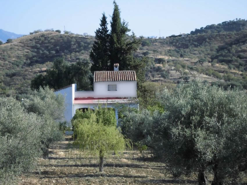 Finca with easy access to the Marbella road.  Two storey house comprising living room with fire plac,Spain