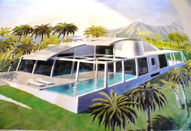 Very modern and spacious villa, to be constructed in a very nice development with club house, spa an, Spain