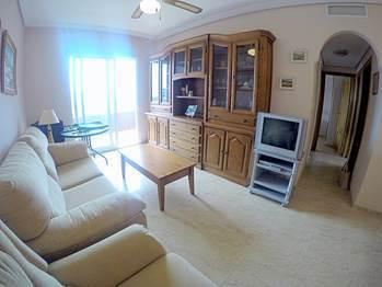 SOUTH FACING 3 BEDROOM APARTMENT IN TORREVIEJA, ALICANTE. This apartment is located in a privileged ,Spain
