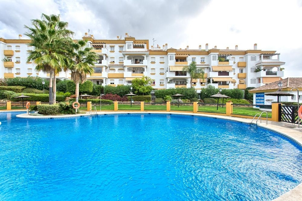 Nice 2 bedroom apartment in Nagueles (Marbella). This apartment has a fully equipped kitchen, good s,Spain