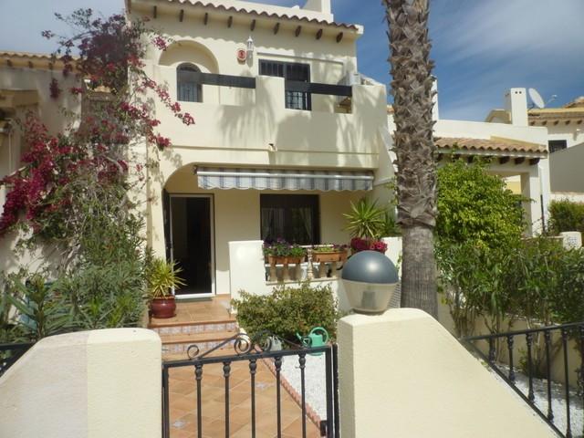 2 BEDROOM TOWNHOUSE IN LAS RAMBLAS GOLF. This very well presented 2 bedroom 1 bathroom townhouse is ,Spain