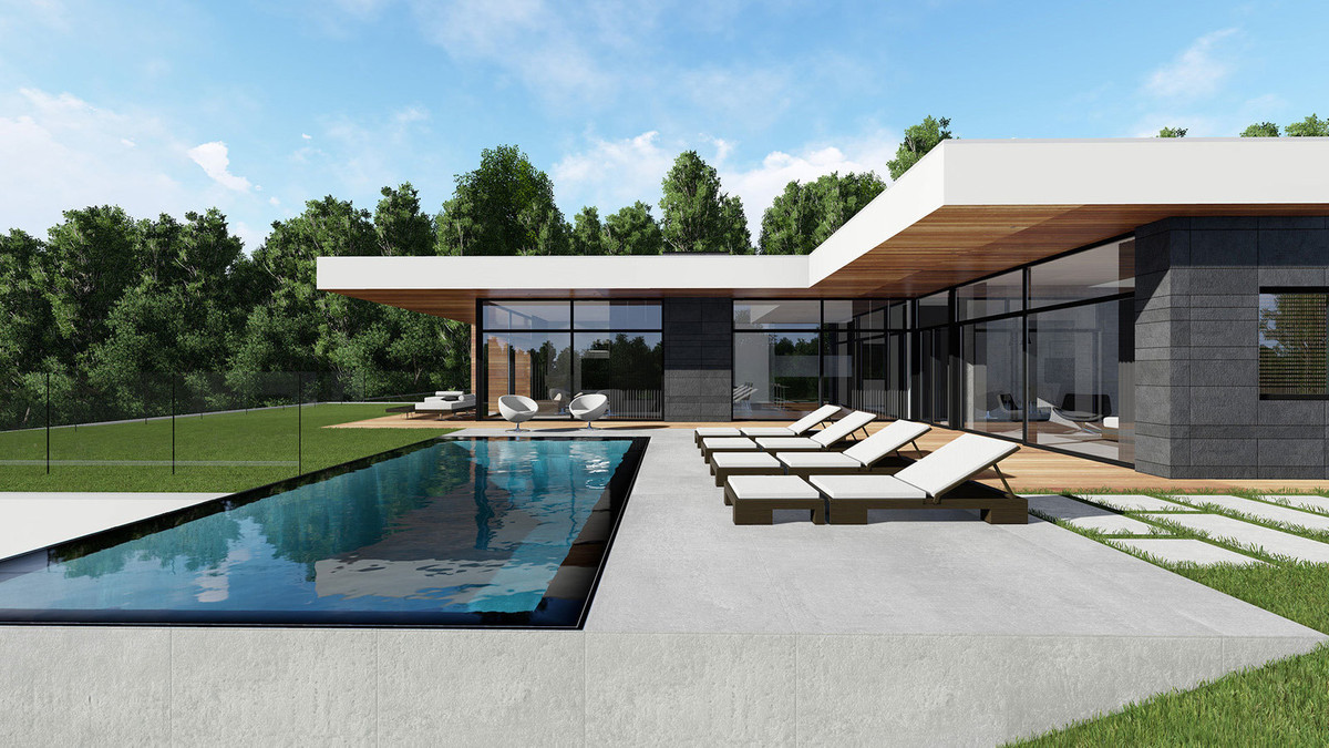 - Off-plan luxury villa on an excellent plot, first line golf, in Mijas Golf with many possibilities,Spain