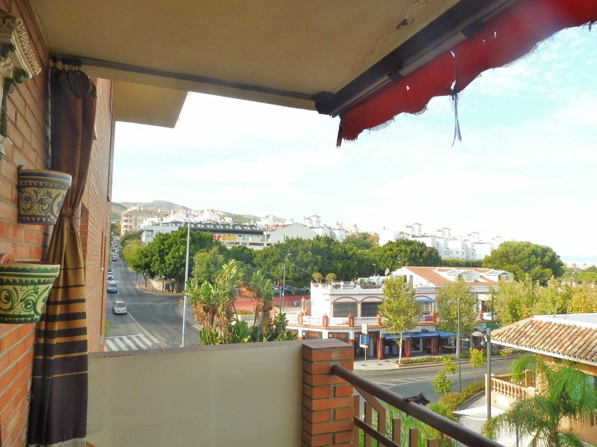 Four bedroom apartment for sale in Benalmadena. This third floor property enjoys a living room, a fu, Spain