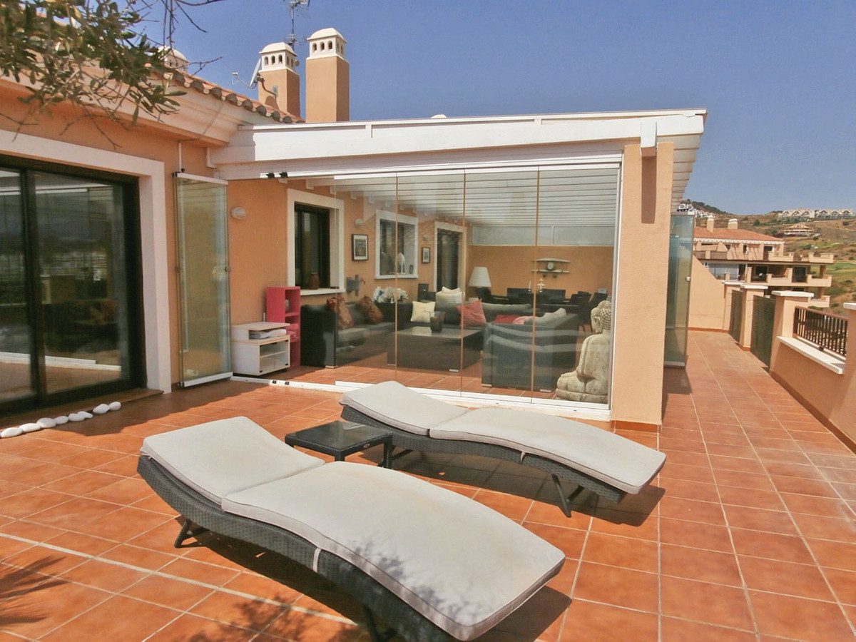 Beautiful penthouse with stunning views to the sea, mountain and golf from its large wrap round terr,Spain