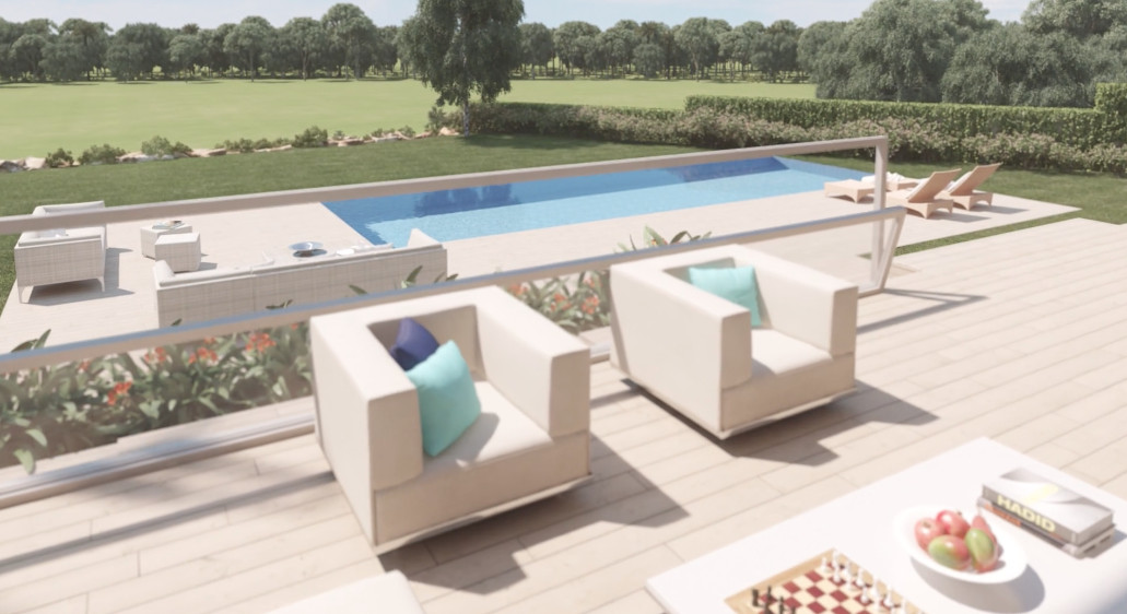 New construction Villa with modern architecture located in exclusive area of Marbella a gated and se,Spain