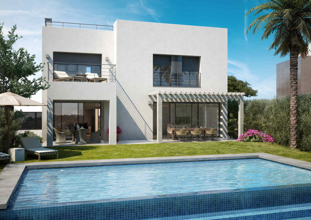 4 bedroom villa in Selwo area  Villa under construction, built with cutting edge design and the high,Spain