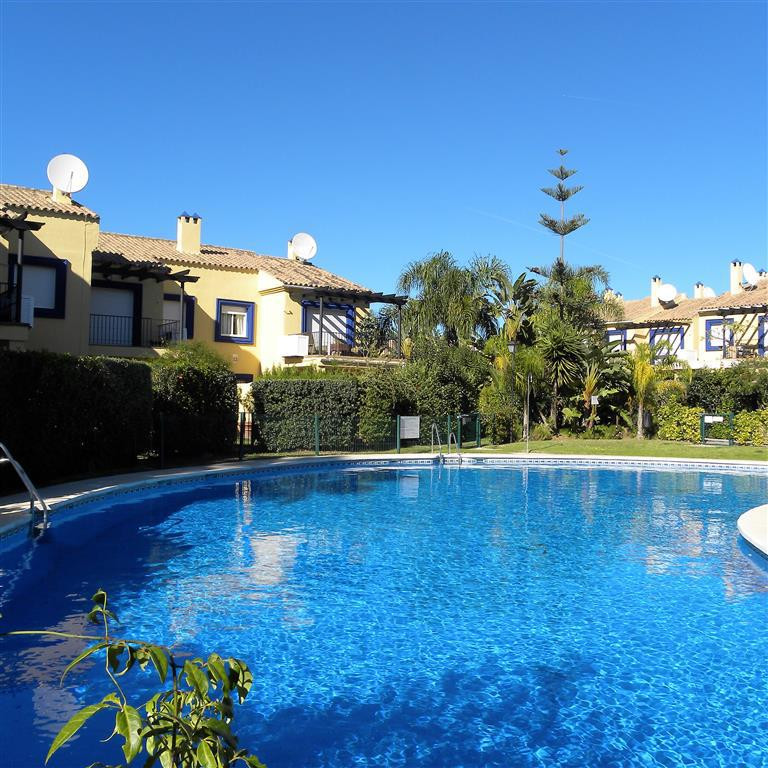 Townhouse that now requires some cosmetic updating in a super location just a few meters along the b,Spain
