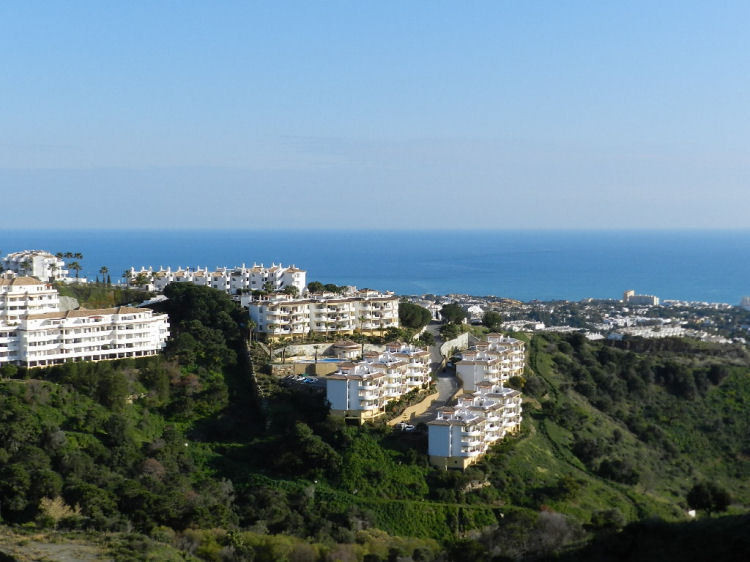 PANORAMIC SEA VIEWS Beautifull South East facing modern apartment with PANORAMIC SEA VIEWS, in ALCOR, Spain