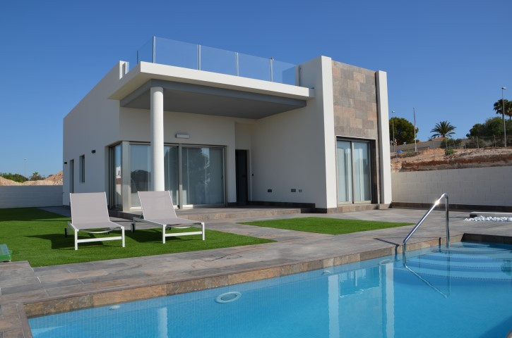 This is a small development of just 19 modern family villas offering spacious, luxury living all on , Spain