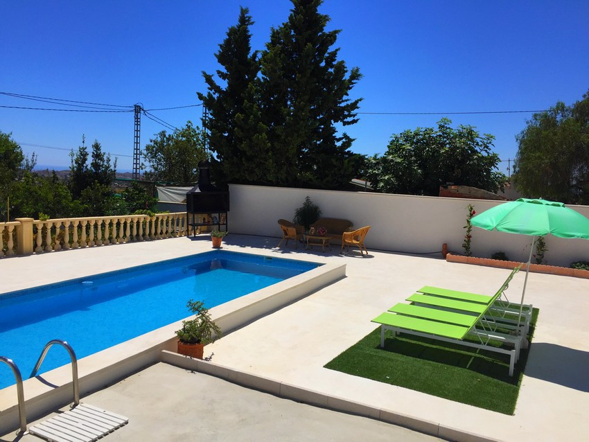 Newly renovated 3 bedroom villa with swimming pool in Busot with views of the mountains.  Pristine, , Spain