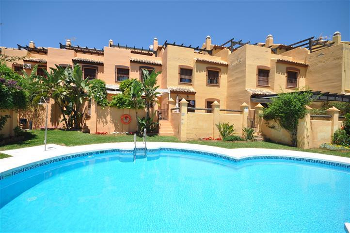 SUPERB SEMI-DETACHED HOUSE 2ND BEACH LINE.   Excellently located in a well maintained residential co,Spain