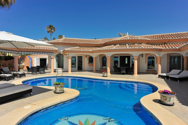Stunning Mediterranean style villa situated in El Faro just moments from the beach. This beautiful v,Spain