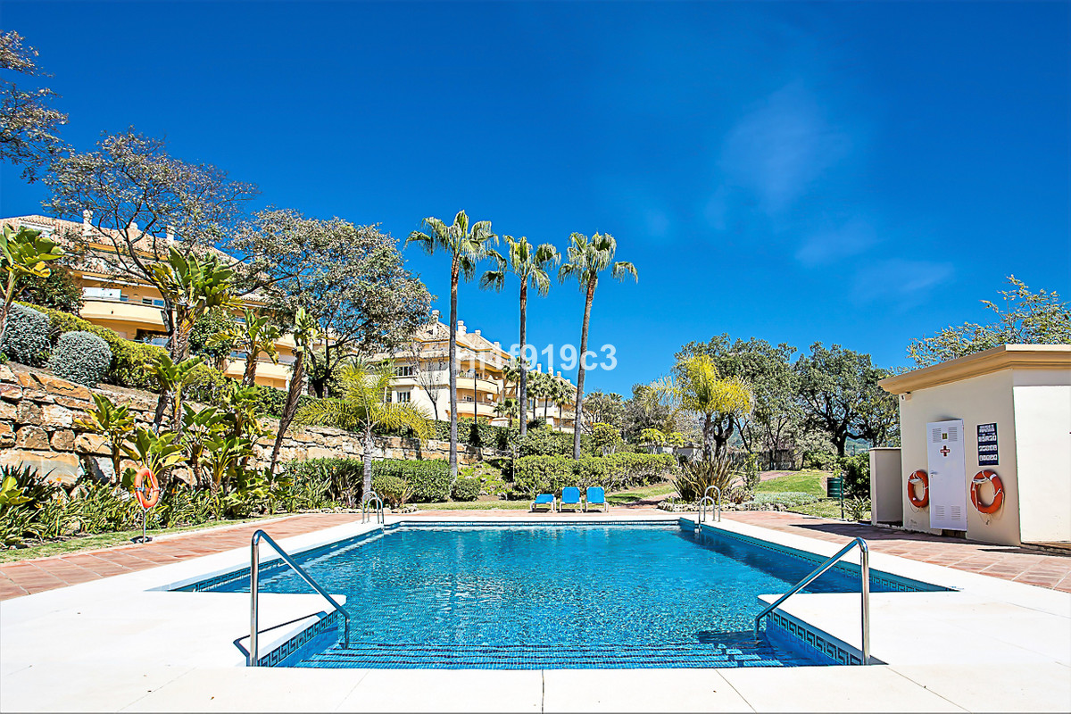 This is a unique duplex penthouse in Elviria with incredible panoramic views to the sea, the lake an,Spain