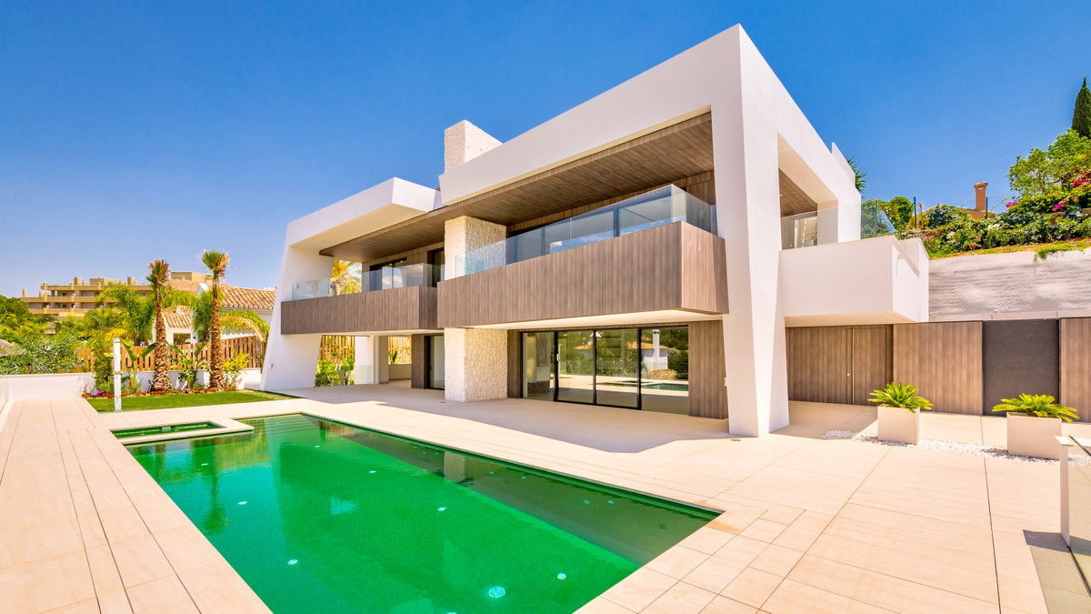 Exceptional modern villa of newly built for sale located in a fantastic enclave surrounded by vegeta, Spain