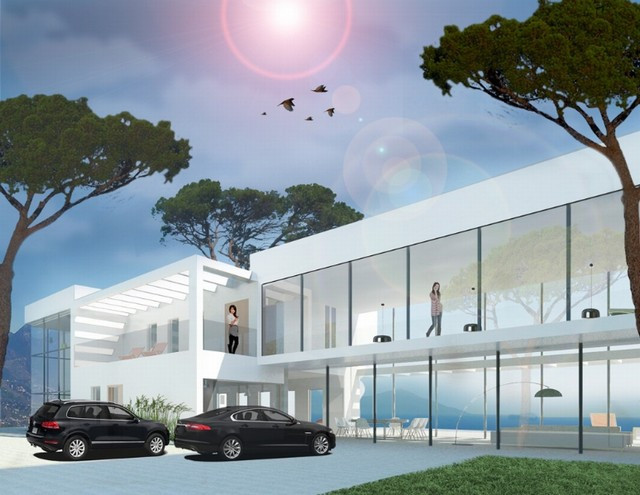 Innovated Villa for sale in the area of east Marbella  Amazing contemporary Villa under construction, Spain