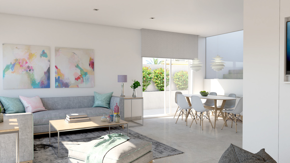 NEW luxury contemporay villas of 4 bedrooms, private pool, gardens, enjoying a superb location in La, Spain