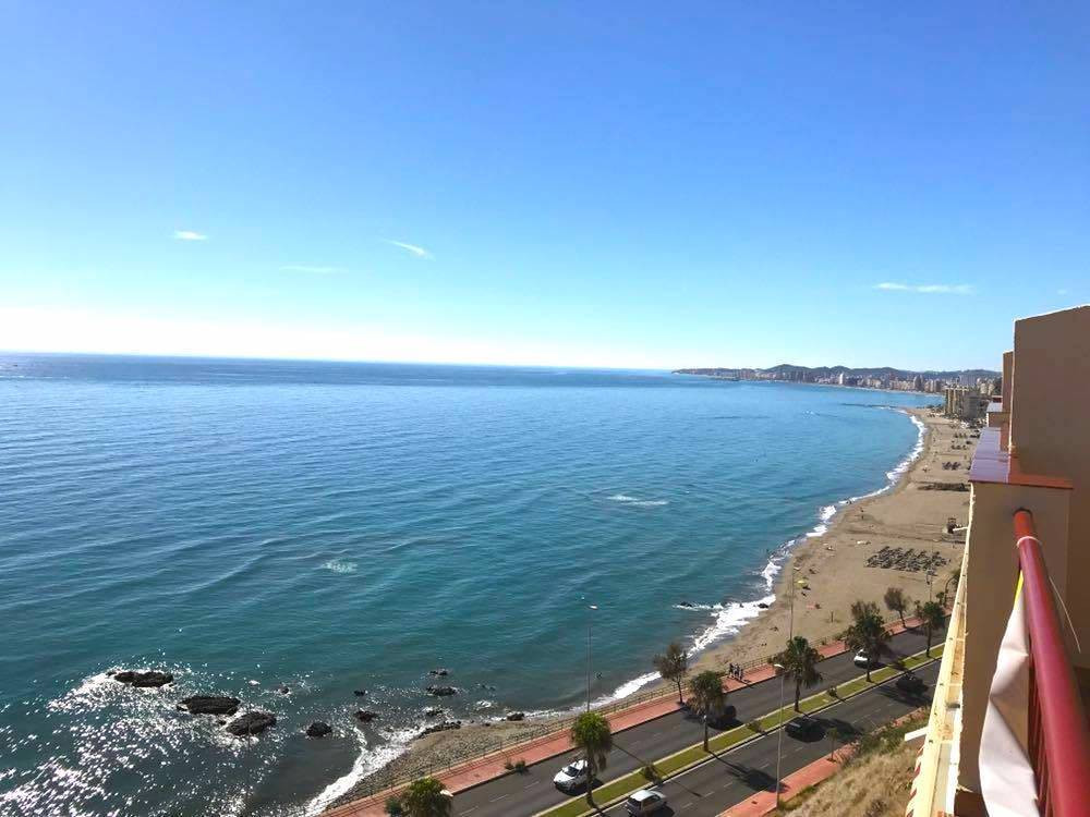 A simply stunning two bedroom, two bathroom penthouse located on the frontline just over the Carvaja, Spain