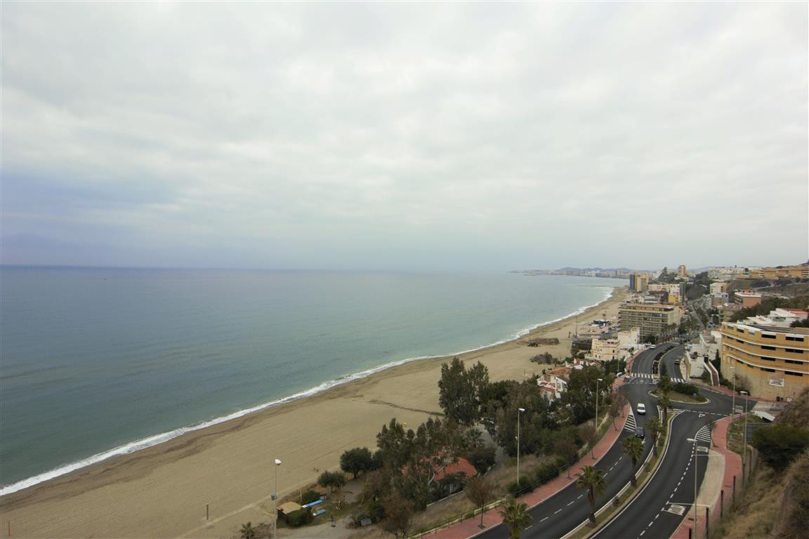 CARVAJAL -Spacious Frontline beach 2 bed apartment with magnificent panoramic views of the coast! Th,Spain