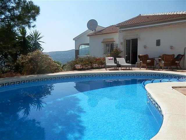 This villa is located in a hamlet only 1 km from the village of Alcaucin with shops, restaurants, an,Spain
