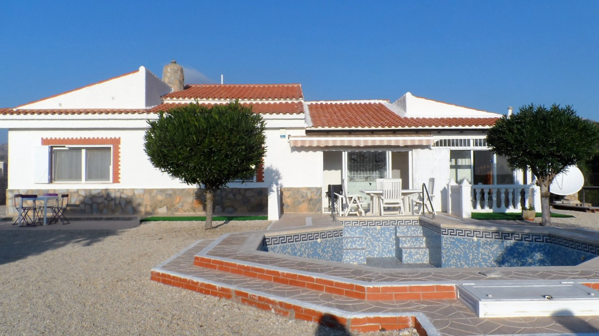 Stunning detached villa on large private plot for sale in Spain.  This spacious and modern villa has, Spain