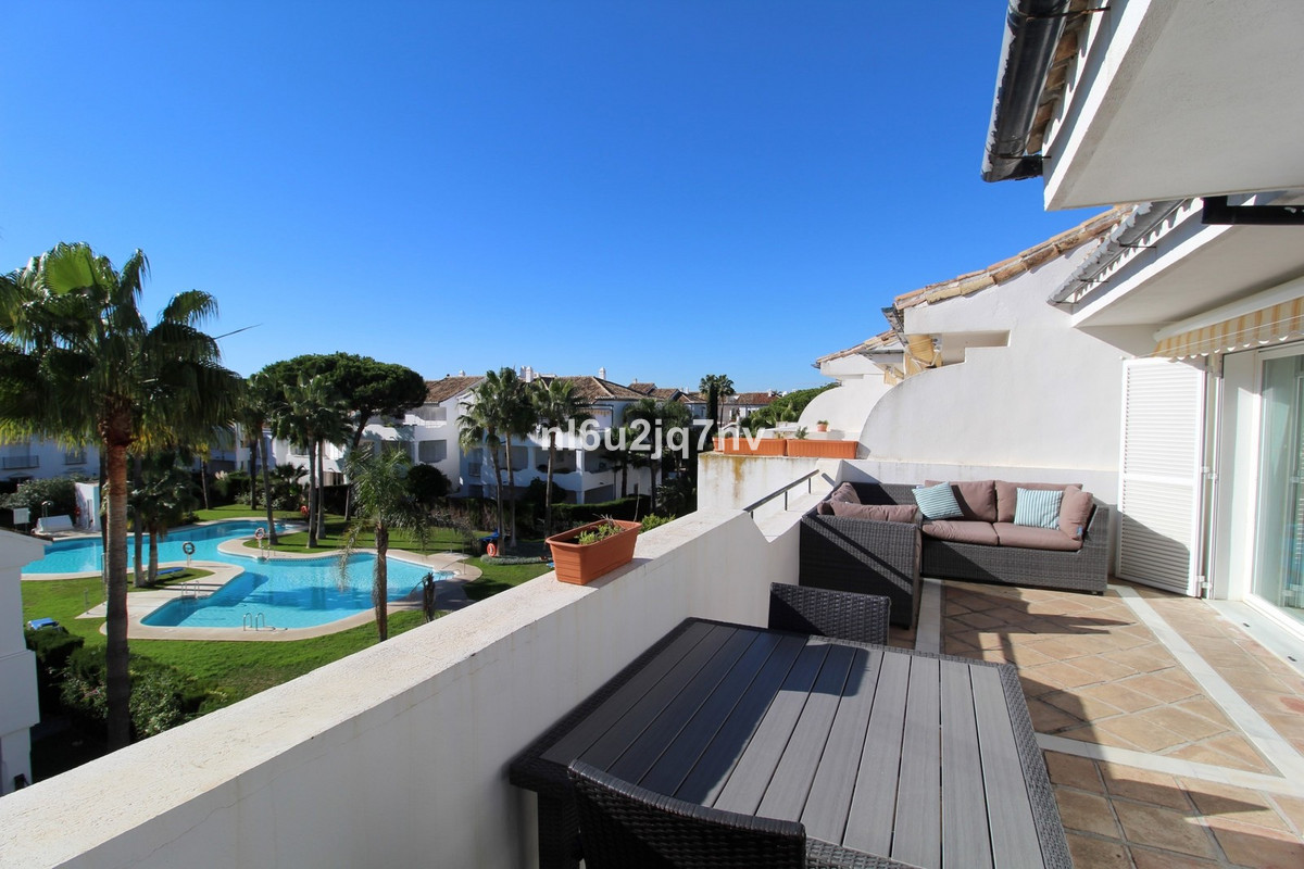 Spacious and bright, south facing beachside penthouse located a short drive away to Puerto Banus and, Spain