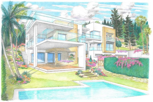 Fabulous plot of land  for sale in Nueva Andalucia, very close to the bull ring, within walking dist,Spain