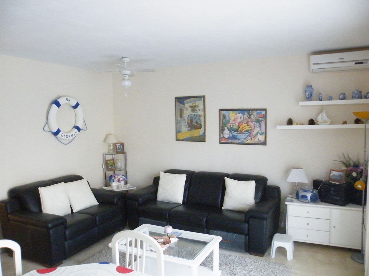 A two double bedroomed two bathroom ground floor apartment. Situated on a popular urbinasation in Ca,Spain