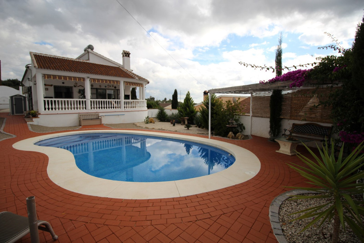 Beautiful Villa with views of nature in Mondron/Periana, consists of a spacious living room with fir, Spain