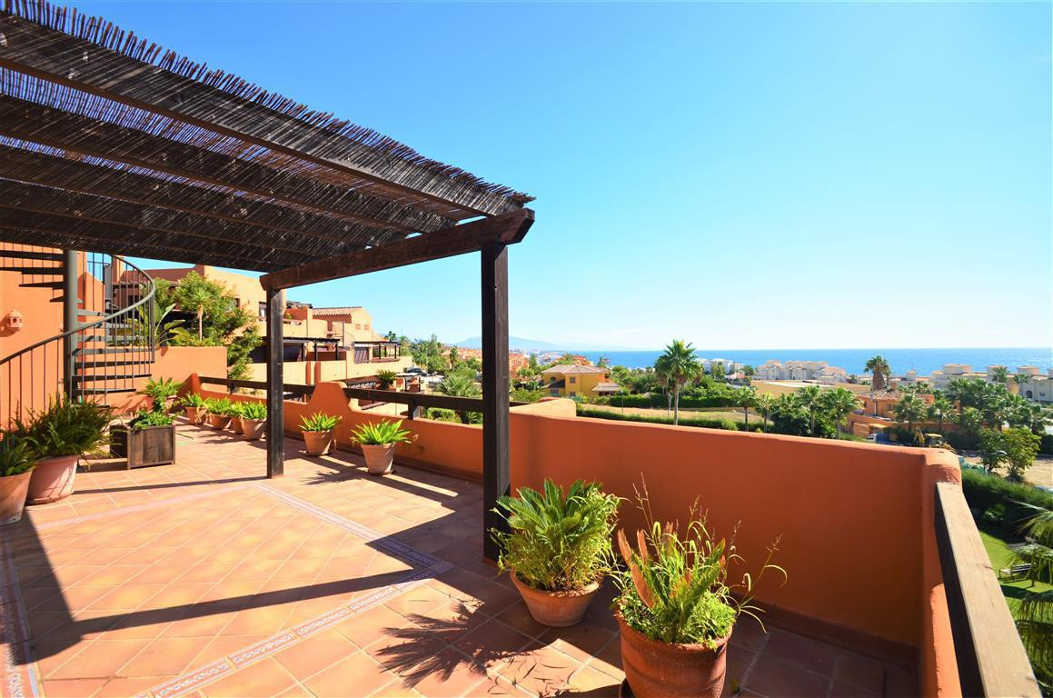 New penthouse apartment with amazing terrace. North and south facing and with abundance of natural l, Spain